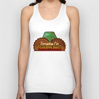 magic the gathering Tank Tops featuring Everyday I'm Shuffling  |  Magic The Gathering by Silvio Ledbetter
