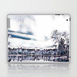 Lake in Bala Ontario Laptop & iPad Skin