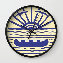 A NEW WAVE Wall Clock