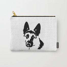 AUTHENTIC CHRISTMAS GIFTS FOR THE ALSATIAN AND GERMAN SHEPHERD DOG LOVER FOR YOU FROM MONOFACES Carry-All Pouch