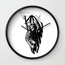 THE GRIM REAPER MR DEATH Wall Clock