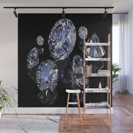 SHINE BRIGHT DIAMOND Wall Mural