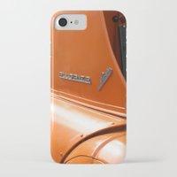 porsche iPhone & iPod Cases featuring Allgaier Porsche by Christine baessler