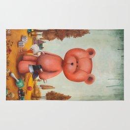 Grumble bear Rug