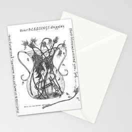 Quit Being Sad Stationery Cards