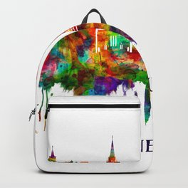 Edinburgh Scotland Skyline Backpack