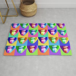 Colorful Tongues Rug