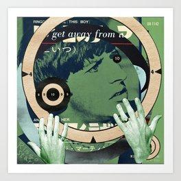 Target Practice - Ringo's Theme Art Print