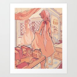Dolly's Room Art Print