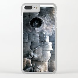 Charred Clear iPhone Case