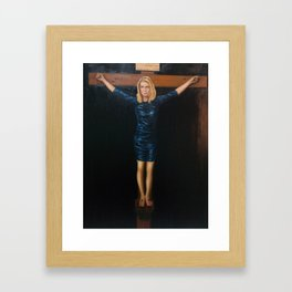 "Katie Hopkins ""Christ Crucified"" A nobilified creation Framed Art Print"