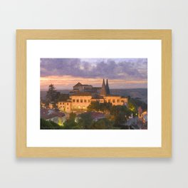 Sintra Royal Palace, Portugal Framed Art Print