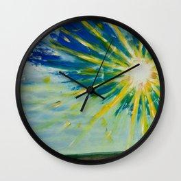 sun ris Wall Clock