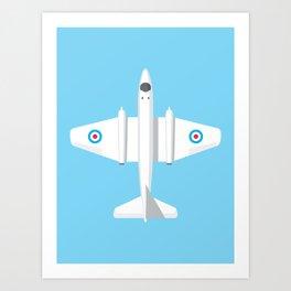 Canberra Jet - Sky Art Print