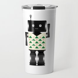 Robot Xmas Travel Mug