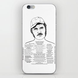 Jaws Captain Quint Ink'd Series iPhone Skin