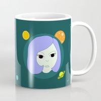 manga Mugs featuring manga girl_9. by fernk