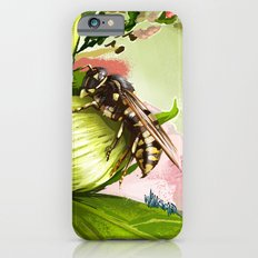 Wasp on flower 6 Slim Case iPhone 6s