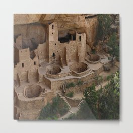 Cliff Palace Overview Metal Print