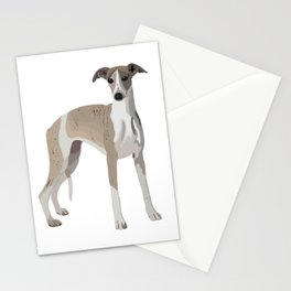 Whippet Love Stationery Cards