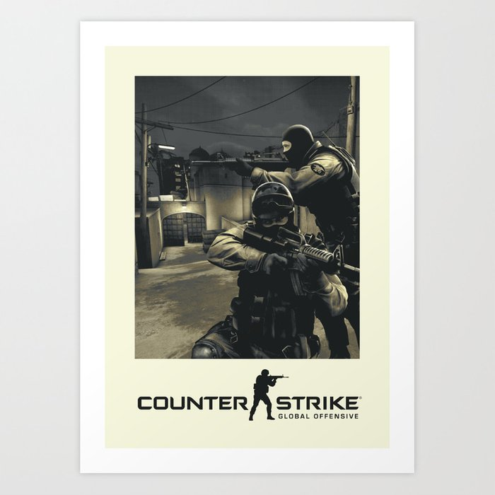 Counter-Strike Global Offensive Art Print