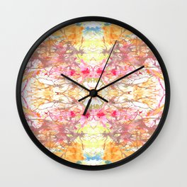 Sorbet on a Summer Day Wall Clock