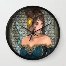 Fairytale Princess Wall Clock