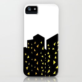 city people dont turn out their lights iPhone Case