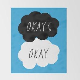 Okay? Okay Throw Blanket