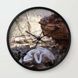 Knitted Eastern Cauliflower Mushroom Wall Clock