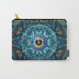 """Om Namah Shivaya"" Mantra- The True Identity- Your self Carry-All Pouch"