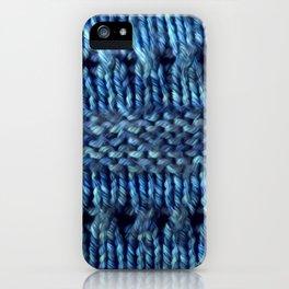Blue Shawl iPhone Case