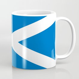 flag of scotland – scotland,scot,scottish,Glasgow,Edinburgh,Aberdeen,dundee,uk,cletic,celts,Gaelic Coffee Mug
