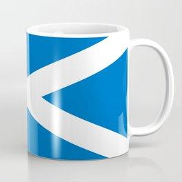 flag of scotland – scotland,scot,scottish,Glasgow,Edinburgh,Aberdeen,dundee,uk,cletic,celts,Gaelic Coffee Mug