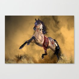 HORSE - Dreamweaver Canvas Print