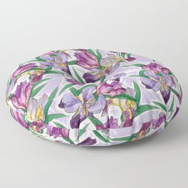 the iris Floor Pillow