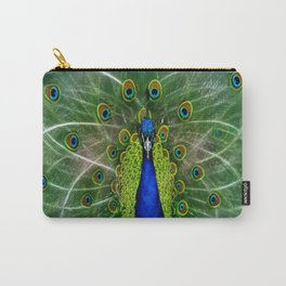 Peacock dreamcatcher Carry-All Pouch