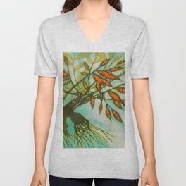 withered tree (original sold) Unisex V-Neck