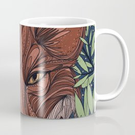 Night Fox Coffee Mug