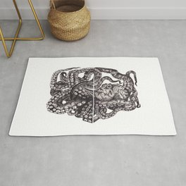 Octopus Invisble Box Rug