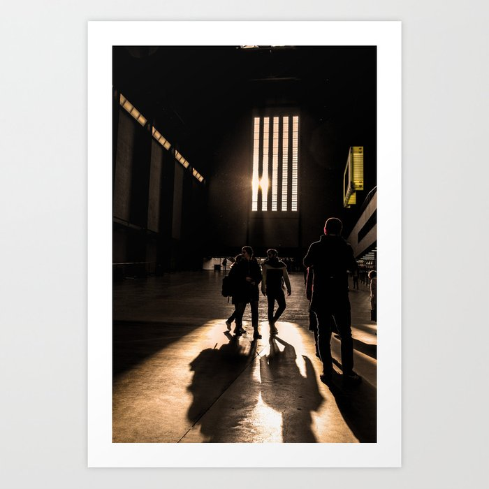 ArtWork Tate Modern Light Sun London Art Print