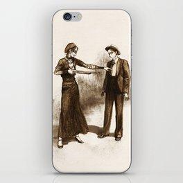 Levihan Bonnie & Clyde!AU iPhone Skin