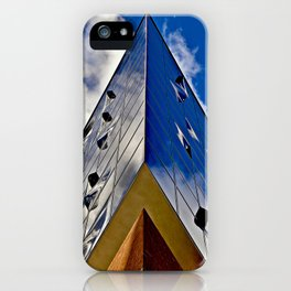 When music touches the blue sky iPhone Case