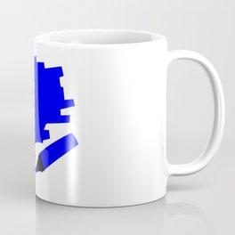 Dark Blue Marker Copy Space Coffee Mug