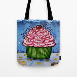 Cupcake, Cupcake Art, Mixed Media, by Faye Tote Bag