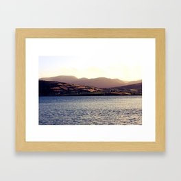 Lets Go To The Mountains Framed Art Print