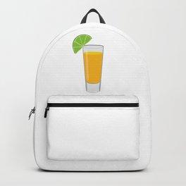Tequila Shot Illustration Backpack