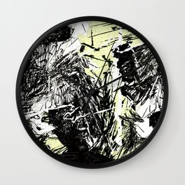 with purpose Wall Clock