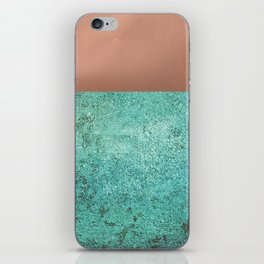 NEW EMOTIONS - ROSE & TEAL iPhone Skin