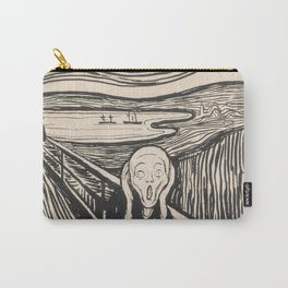 The Scream (1895) by Edvard Munch Carry-All Pouch